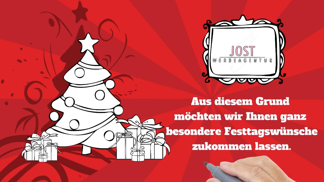 Werbeagentur Jost: Weihnachtsgrüße