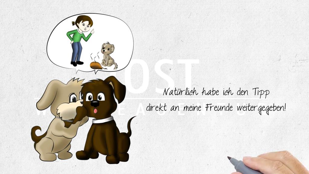 Hundeschule: Gefahrenhinweis Giftköder